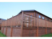 Beautiful 40' x 20' lodge for sale in the Ribble Valley