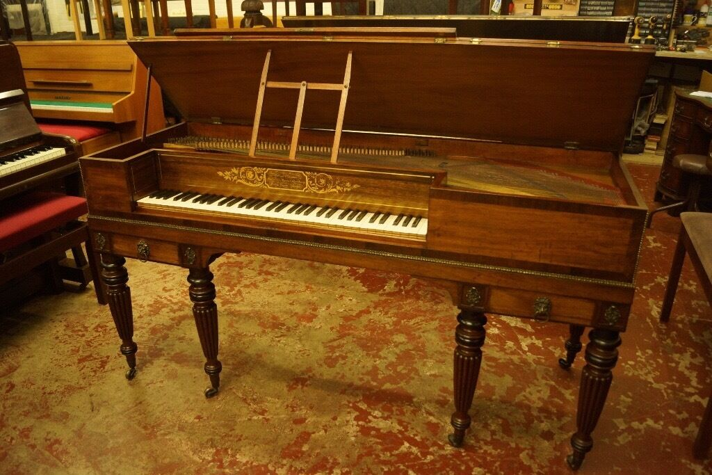 William Stodart square grand piano, George IV, Delivery available UK Europein Leith, EdinburghGumtree - William Stodart Square Pianoforte Maker to their Majesties & the Royal Family Golden Square London Stunning example of the English square pianoforte, we offer a square made by William Stodart, Nephew of distinguished London maker of Pianoforte,...