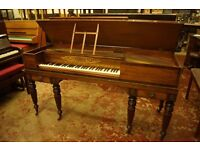 William Stodart square grand piano, George IV, Delivery available UK Europe +