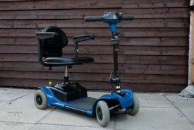 MOBILITY SCOOTER - GOGO = 4MPH - CARBOOT SCOOTER