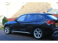2010 Pearlescent Black BMW X1 2.0D SE X-Drive