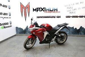 2012 Honda CBR250R was: $2999 +tx