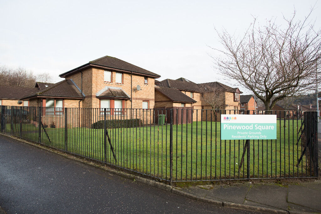 Property available now at modern sheltered development in Nitshill, Glasgow.