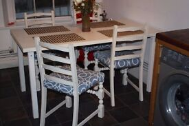 Kitchen Dining table - restored 150x80cm
