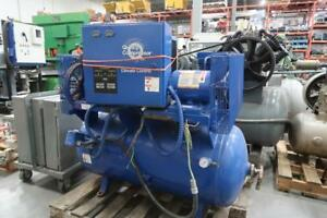 QUINCY TWIN 1.5 Hp Twin Pump C/W Dryer