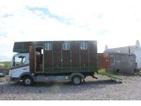 Mercedes horse box campervan FOR SALE!