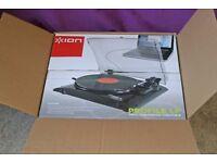 ION Vinyl to CD converter turntable