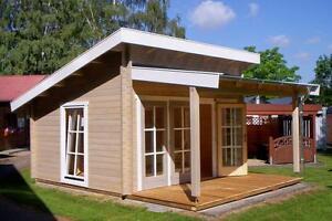 Gartenhaus Modern Pultdach eBay Kleinanzeigen