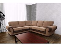 BRAND NEW LARGE DESIGN, CORD SOFA COLLECTION, AVAILABLE AS A 3+2 SET OR CORNER SUITE