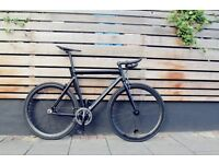 Free to Customise Aluminium Alloy Frame Single speed road track bike fixed gear racing fixie bicycle