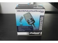 USB Microphone Prosound (NEW Boxed)