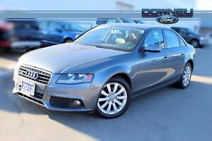 2012 Audi A4 2.0T, QUATTRO AWD, LEATHER HEATED SEATS