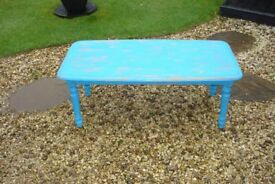 coffee table annie sloan chalk painted