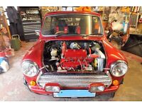 MINI 1275cc - FOR SALE - FULLY REBUILT - ALMOST ALL NEW PARTS