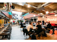 OFFICE SPACE WITH CREATIVE MEDIA HUB AND INTERIOR DESIGN FOR RENT AT ST OLD ST.-LONDON
