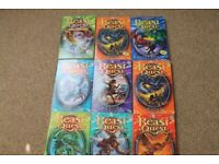 9 Beast Quest by Adam Blade books
