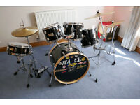 REDUCED - Mapex V Beginners 5-piece Drum Kit - used