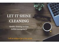 Quality Cleaning Services/ Short Term Property Management