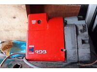 riello oil burner used fair condition