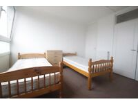 COSY TWIN ROOM TO RENT IN KENTISH TOWN CLOSE TO THE TUBE STATION 80Q.