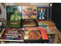 Collection of Readers Digest Easy Listening Vinyl Box Sets