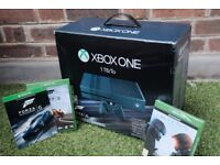 Xbox One Forza Limited Edition 1TB Console - Like New + 3 Games