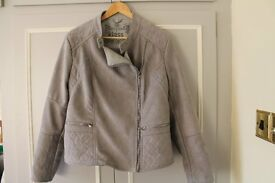 Ladies Klass biker style jacket, as new,size 20 but more like 16 - 18. Collect only.