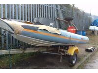 Flatacraft Rib Force 4 Project boat