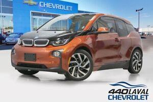 2014 BMW i3 électrique navigation bluetooth caméra de recul