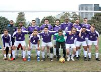 Looking for extra players to join our casual football games in LONDON . FIND FOOTBALL, JOIN TEAM