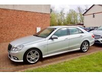 Mercedes w212 E200d Sport, Low Mileage, Brilliant Silver, genuine 40 mpg