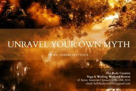 Unravel Your Own Myth - Yoga and writing retreat