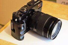 Fuji camera & lens combo