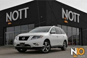 2015 Nissan Pathfinder Platinum, Nav, DVD/TV, 7 Pass, LOADED