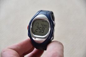 Sports Trainer Watch complete with Instruction Manual, Chest Strap & Custom Carry Bag