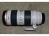 Canon EF 70-200 f2.8L IS USM