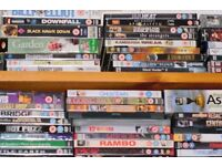 Assortment of 80+ DVD's for sale