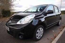 Nissan Note 1.5 dCi Visia Black 5dr 2009 - 55000 miles