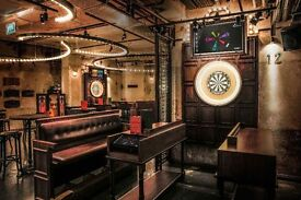 Kitchen Porter and Chef de Partie wanted for exciting new Concept Venue in the City