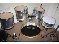 Mapex V Series Silver 5 Piece Drum Kit - DRUMS ONLY