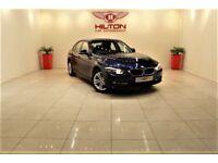 BMW 3 SERIES 2.0 320d Sport 4dr + 1 OWNER + SERVICE HISTORY (blue) 2012
