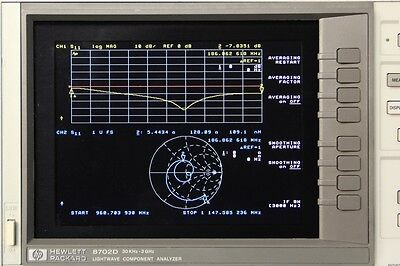 NewScope-7B LCD Display kit for HP Agilent 8752A 8752C 8753C 8753D 8702B 8702D