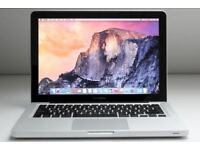 13.3' MacBook Pro Laptop Core i7 2.8GHz 8GB 500Gb HDD Logic Pro X Ableton 9 Final Cut Pro X Adobe CC