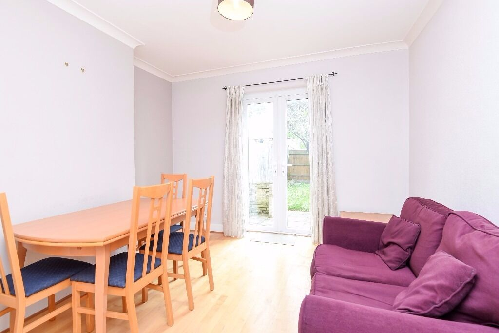 This lovely house offers four bedrooms and a private garden, situated on Stanley Road.