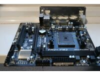 Gigabyte mATX Motherboard GA-F2A78M-HD2 (AMD FM2+ socket) DDR3 HDMI DVI VGA