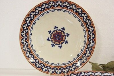 PIATTO ANTICO INGLESE IN CERAMICA TERRAGLIA  ANTIQUE  MINTON B B NEW STONE PLATE