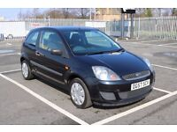 2007 Black Ford Fiesta 75k Miles Full Mot Clean Car HPI Clear