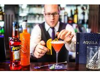 Cocktail Trained Bar Staff Required