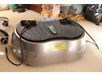 Vibrating Exercise Table – Remote Control variable speeds – Good Condition