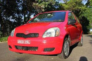2003 Toyota Echo 1.5L Hatchback RED Greenwich Lane Cove Area Preview